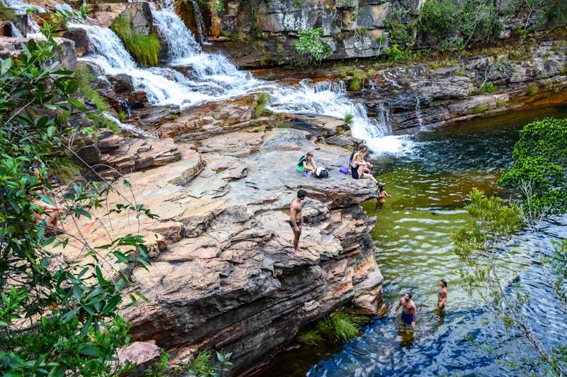 Cachoeira Almécegas: Chapada dos Veadeiros