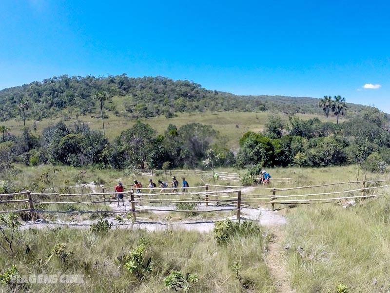 Cachoeira Santa Bárbara e Cachoeira da Capivara: Chapada dos Veadeiros, Cavalcante