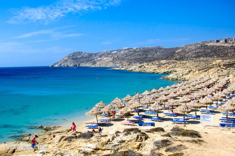 Melhores Praias do Mundo: Elia Beach, Mykonos