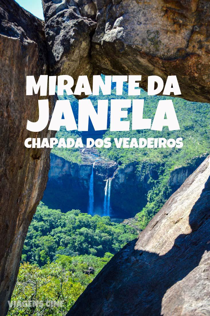 Mirante da Janela e Cachoeira do Abismo - Chapada dos