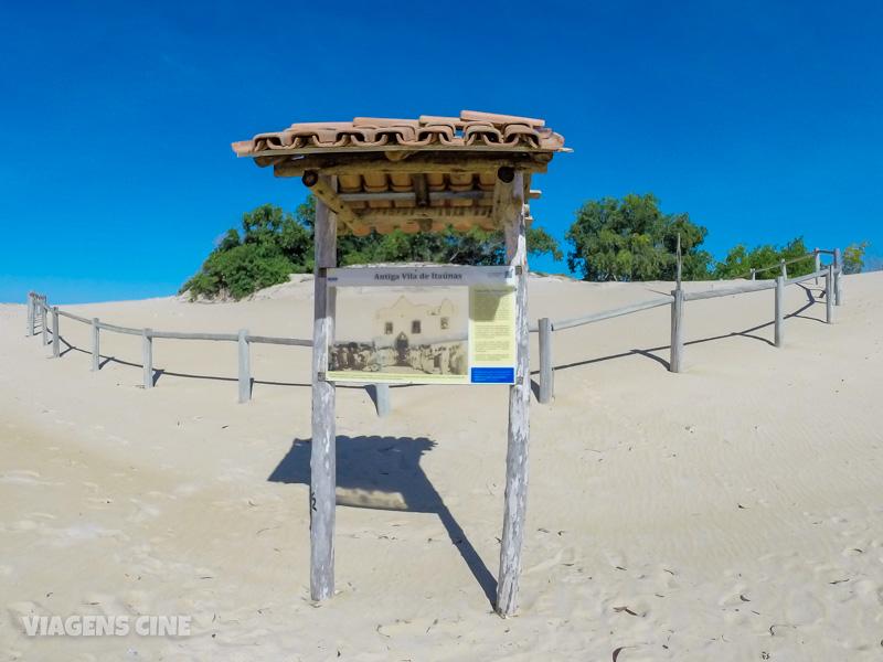O que fazer em Itaúnas ES: Pontos Turísticos - Vila e Parque Estadual de Itaúnas