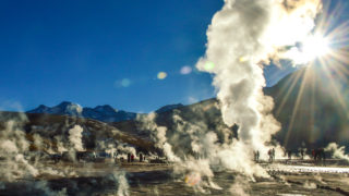 Geyser del Tatio e Trekking Copacoya: Tour no Deserto do Atacama