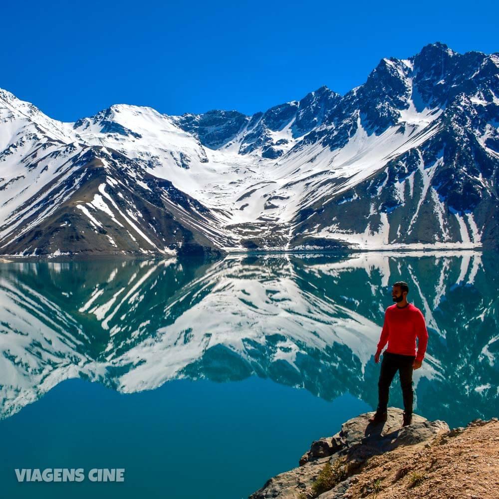 Cajón del Maipo e Embalse El Yeso: Tour Imperdível em Santiago do Chile no inverno