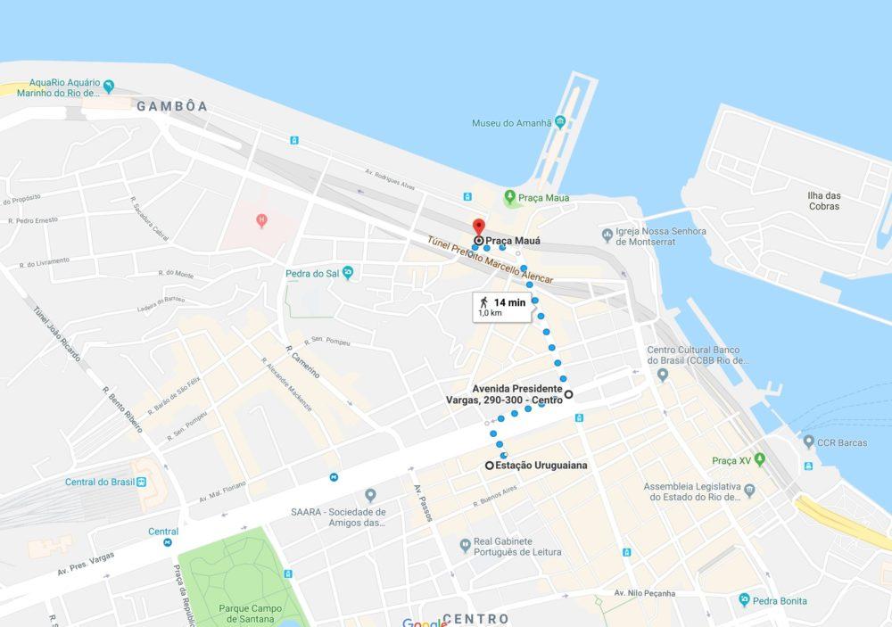 Museu do Amanhã e Pier Mauá - Como Chegar