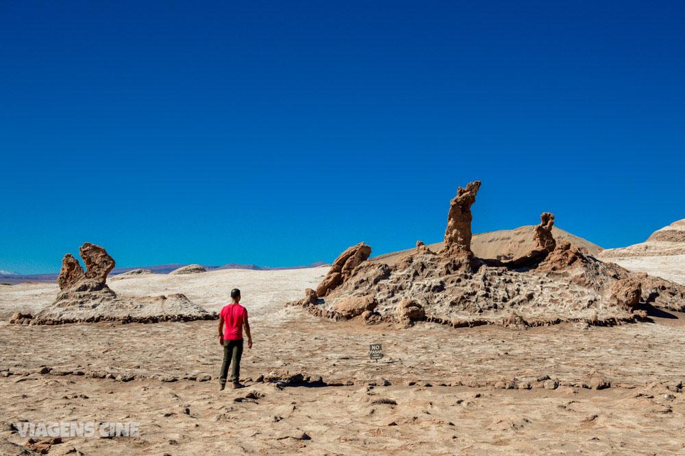 Valle de La Luna e Valle de La Muerte - Trekking no Deserto do Atacama (Vale da Lua e Vale da Morte)
