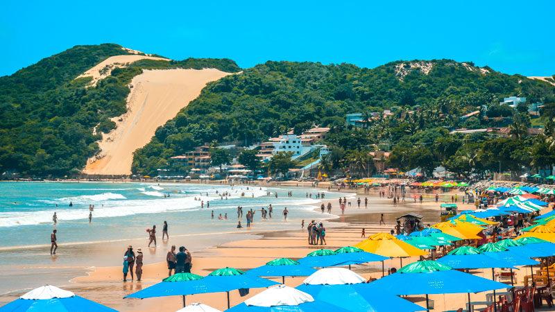 Resultado de imagem para turistas internacionais rio grande do norte agencia brasil