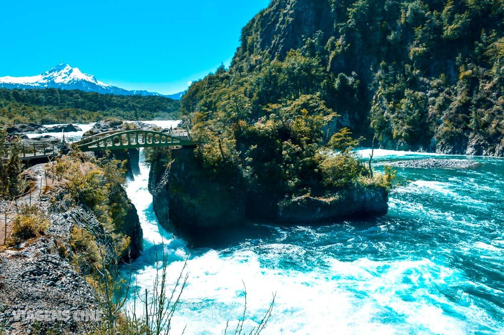 Saltos de Petrohué e Passeio de Barco no Lago de Todos os Santos: Puerto Varas e Lagos Andinos, Chile