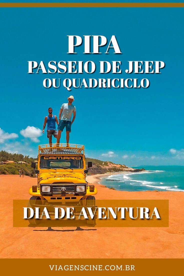Passeios em Pipa: Quadriciclo ou Jeep, Arvorismo e Tirolesa com a Pipa Aventura