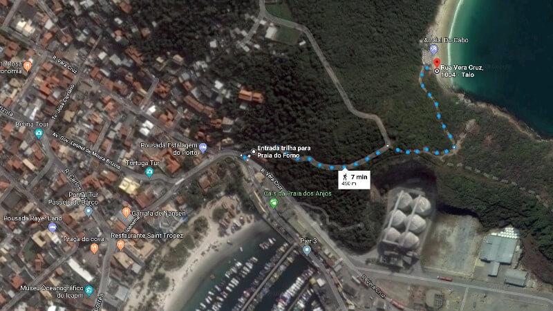 Arraial do Cabo: Praia do Forno - Como Chegar