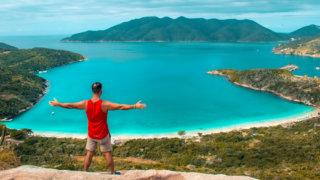 Arraial do Cabo: Trilha e Mirante para a Praia do Forno - Morro da Cabocla