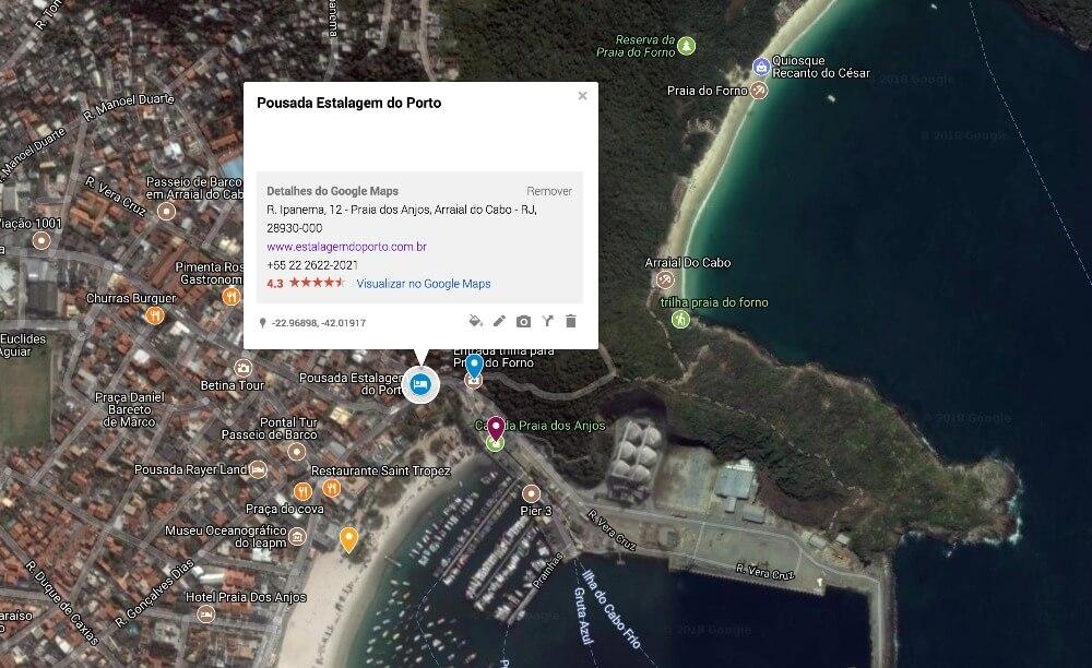 Pousada Barata em Arraial do Cabo - Praia dos Anjos: Pousada Estalagem do Porto