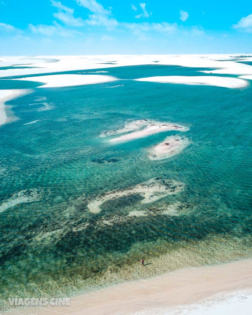 O que fazer em Santo Amaro do Maranhão: Lagoa de Betânia - Lençóis Maranhenses
