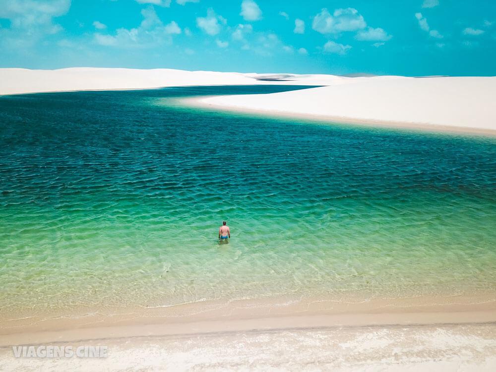 O que fazer em Santo Amaro do Maranhão: Lagoa das Andorinhas - Lençóis Maranhenses