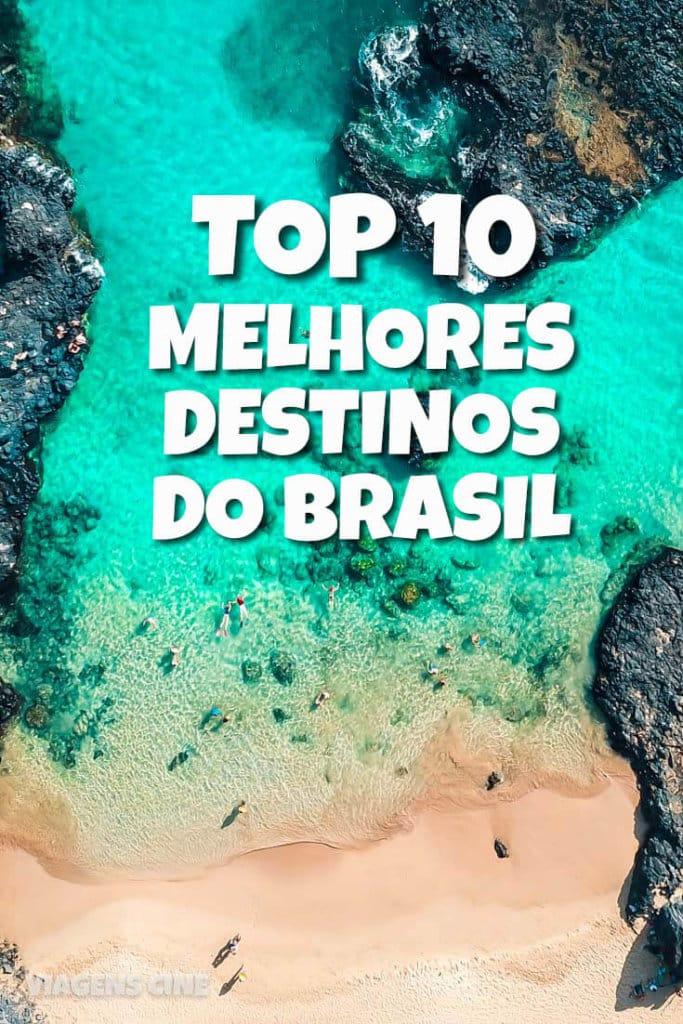 Top 10 Melhores Destinos do Brasil 2018 - 2019 - Dicas de Viagem